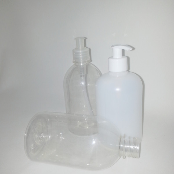 frasco tipo saboneteira